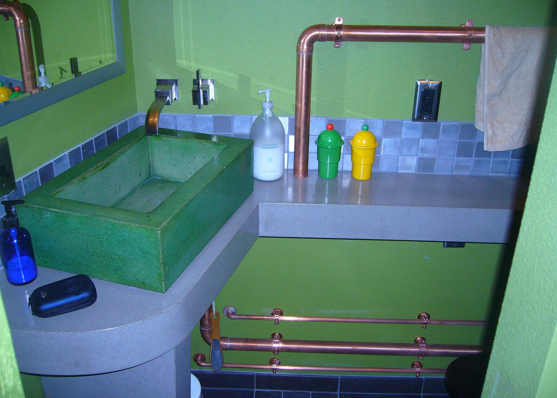 Kitchen Sink Copper Pipe - Sink Ideas