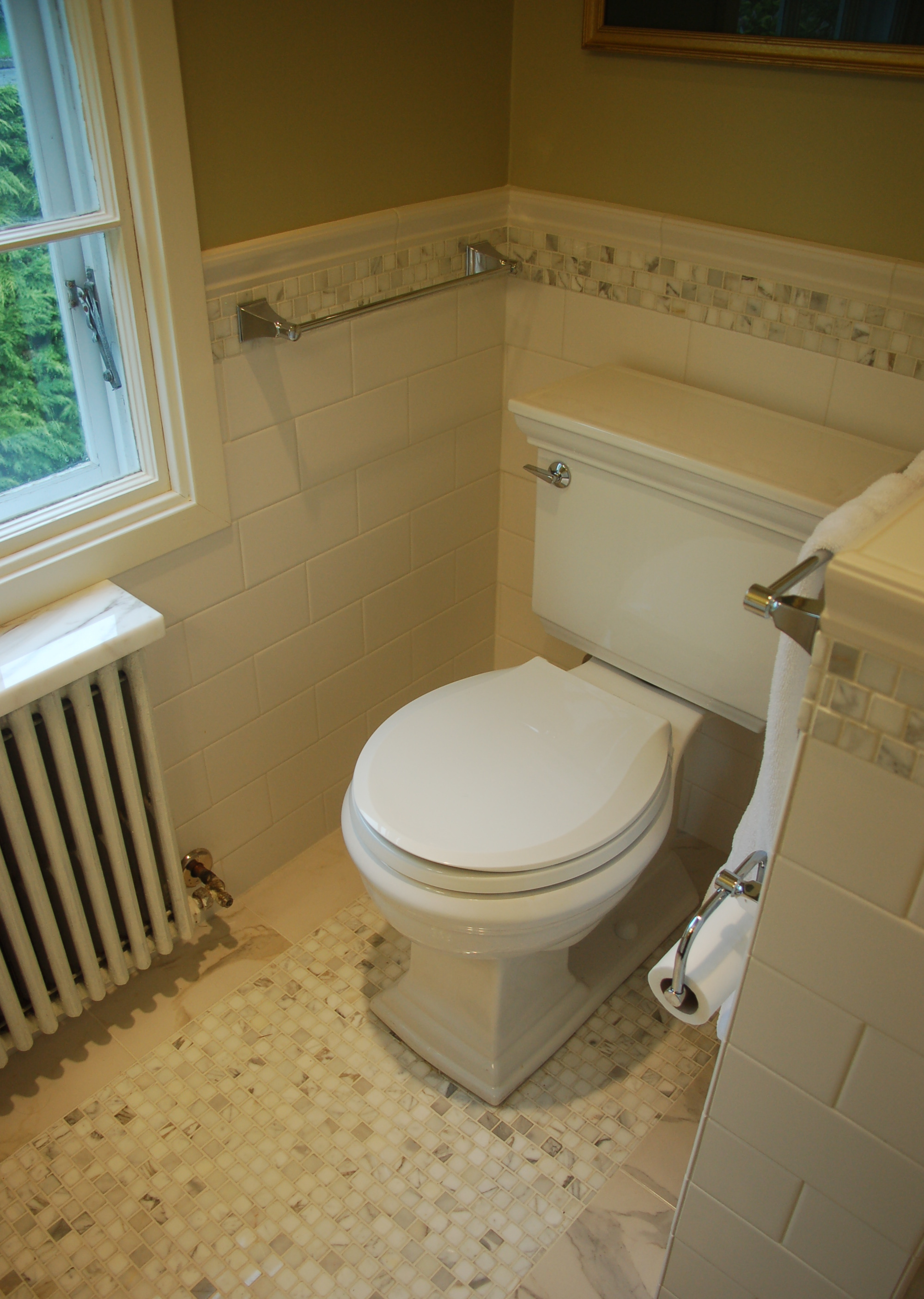 1930 39 s bathroom remodel favinger plumbing bellingham for Bathroom remodel plumbing
