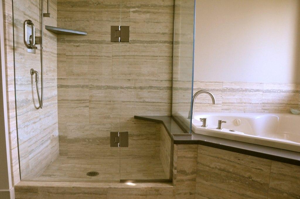 Top mount bathroom sinks - Chuckanut Remodel Favinger Plumbing Bellingham