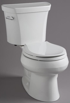 kohler in standard height 145u201d with round front or elongated bowl and in heightu201d also known as ada 165u201d and has a fully